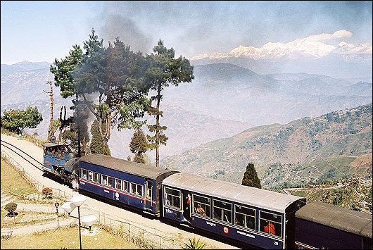 "The Darjeeling Himalayan Railway, nicknamed the ""Toy Train"""